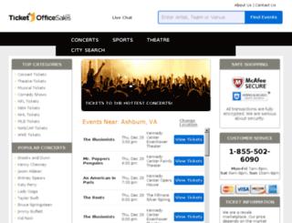 ticketofficesales.com screenshot