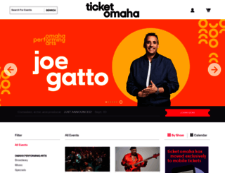 ticketomaha.com screenshot