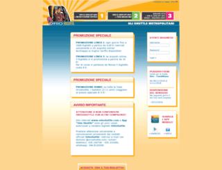 ticketonline.orioshuttle.com screenshot