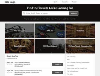 ticketpedia.com screenshot