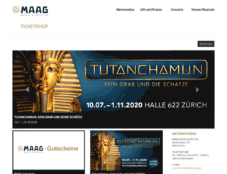 ticketportal.showare.ch screenshot