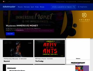 ticketpro.pl screenshot