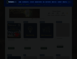 ticketpros.co.za screenshot