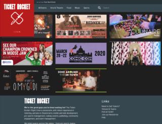 ticketrocket.co screenshot