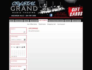 tickets.crystalgrand.com screenshot