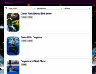 tickets.dubaidolphinarium.ae screenshot