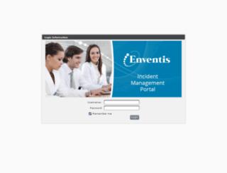 tickets.enventis.com screenshot