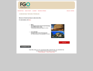 tickets.fgo.org screenshot