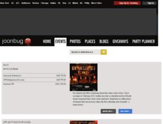 tickets.joonbug.com screenshot