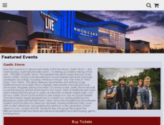 tickets.showcaselive.com screenshot