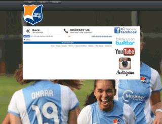 tickets.skybluefc.com screenshot