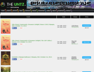 tickets.theuntz.com screenshot