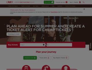 tickets.virgintrainseastcoast.com screenshot