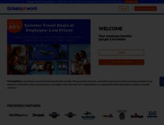 ticketsatwork.com screenshot
