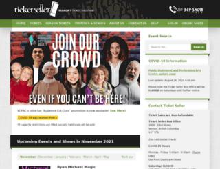 ticketseller.ca screenshot