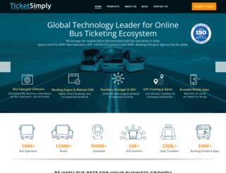 ticketsimply.com screenshot