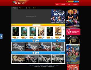 ticketslk.com screenshot