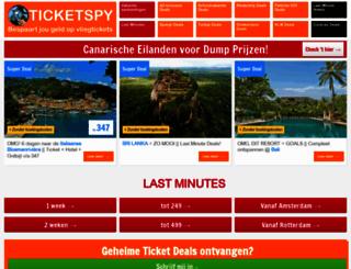 ticketspy.nl screenshot