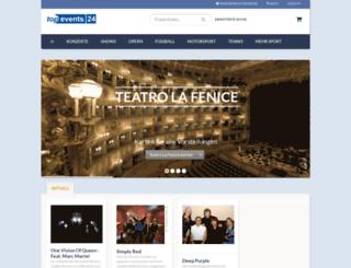 tickettour.de screenshot