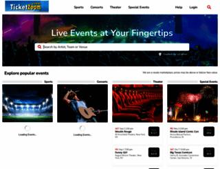 ticketzoom.com screenshot