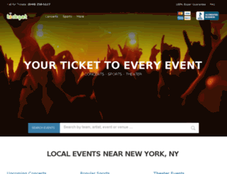 tickget.com screenshot