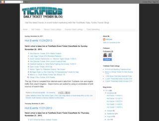 tickifieds.blogspot.com screenshot