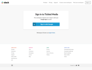 tickledmedia.slack.com screenshot