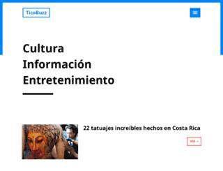 ticobuzz.com screenshot