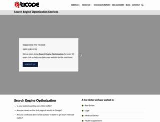 ticode.com screenshot