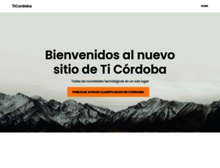 ticordoba.com.ar screenshot