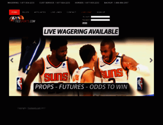 ticosports.com screenshot
