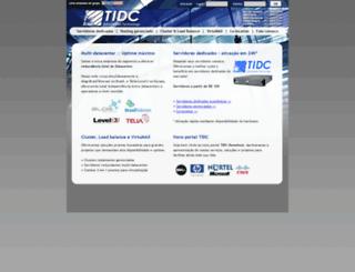 tidc.com.br screenshot