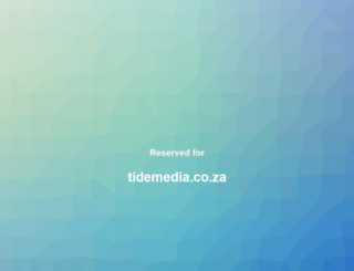 tidemedia.co.za screenshot