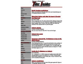 tiderinsider.com screenshot