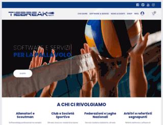 tiebreaktech.com screenshot