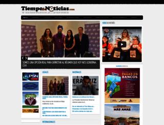 tiempodenoticias.com screenshot