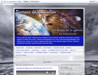 tiemposdetribulacion.blogspot.mx screenshot