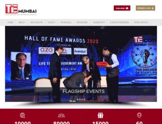 tiemumbai.org screenshot