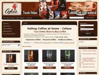 tienda-cafe.es screenshot