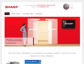 tienda-sharp.com.mx screenshot