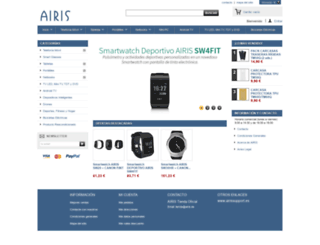 tienda.airis.es screenshot