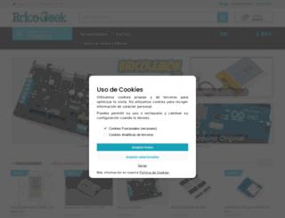 tienda.bricogeek.com screenshot