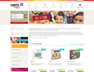 tienda.cayro.es screenshot
