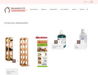 tienda.decoracion2.com screenshot