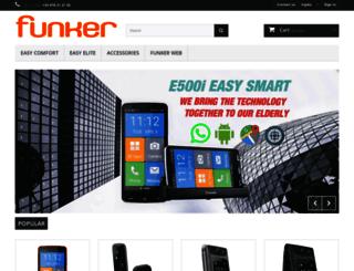 tienda.funkertech.com screenshot