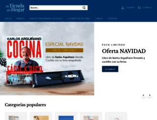 tienda.hogarmania.com screenshot