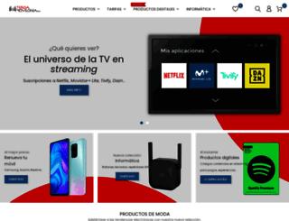 tienda.movilonia.com screenshot