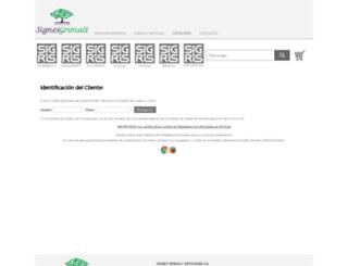 tienda.signes-grimalt.com screenshot