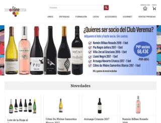 tienda.verema.com screenshot