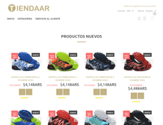 tiendaar.com screenshot